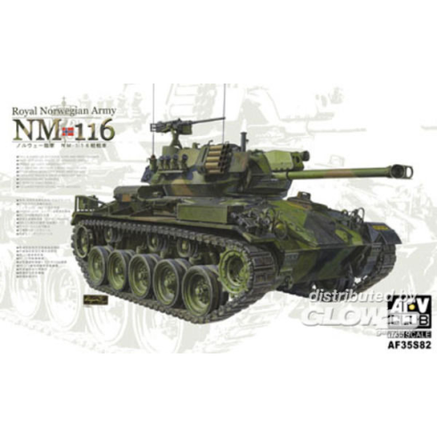 AFV-ClubNM 116 Royal Norwegian Army 1/35