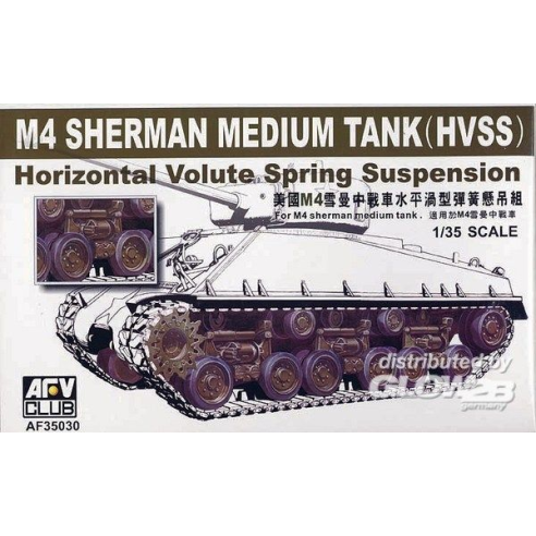 AFV-ClubM4A3E8 HVSS SUSPENSION