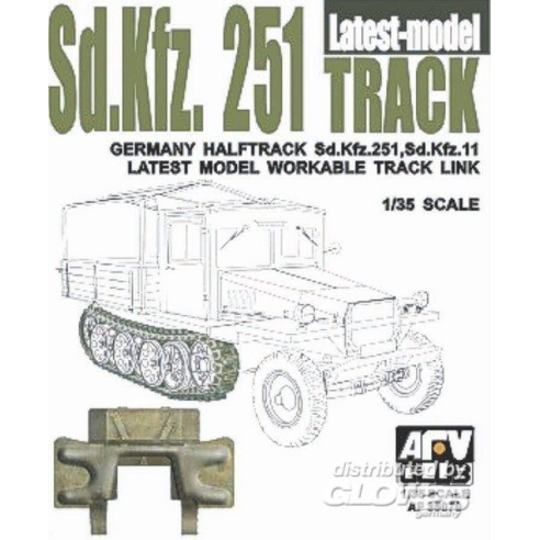 AFV-ClubSDKFZ 251 TRACK FINAL TYPE