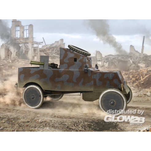 ICM 35669 : Model T RNAS Armoured Car  1:35