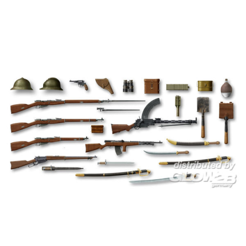 ICM 35672 : WWI Russian Infantry W&E  1:35
