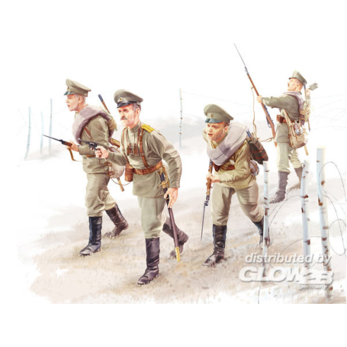 ICM 35677 : WWI Russian Infantry (4figures)  1:35