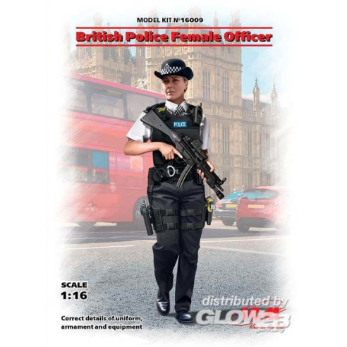 ICM 16009 : British Police Female Officer  1:16