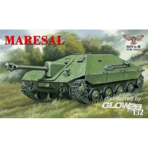 "Modelsvit SVM-72011 : Romanian tank destroyer""Mar esal""M-04  1:72"