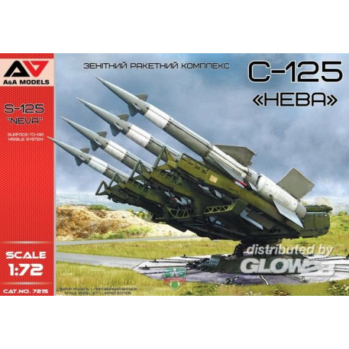 "Modelsvit AAM7215 : S-125""Neva""Surface-to-Air Missile System  1:72"