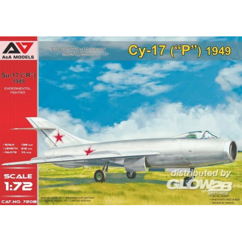 Modelsvit AAM7208 : Su-17 (1949) advanced prototype  1:72