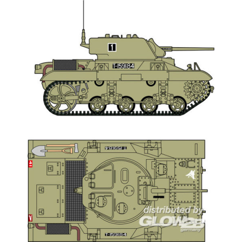 Planet Models 129-MV103 : M-22 Locust Airbone tank USA, GB, WWII  1:72