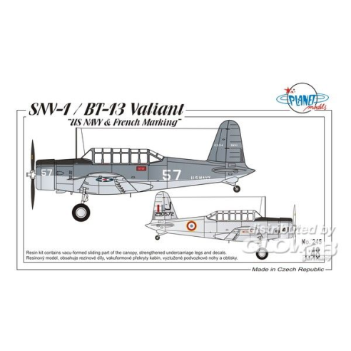 Planet Models 129-PLT245 : SNV-1/BT-13 Valiant  1:48