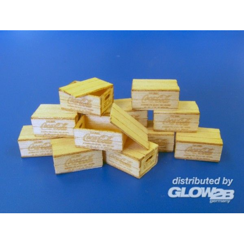 Plus model 450 : US wooden boxes for bottles  1:35
