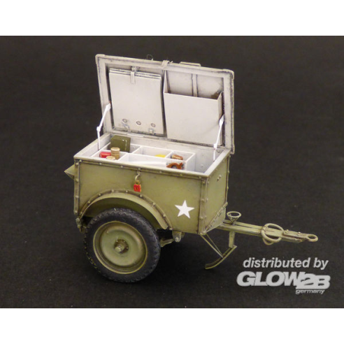 Plus model 538 : U.S.Telephone trailer K-38  1:35