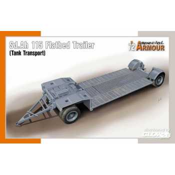 Special Hobby 1:72 : Sd.Ah 115 Flatbed Trailer (Tank Transport) -100-SA72022