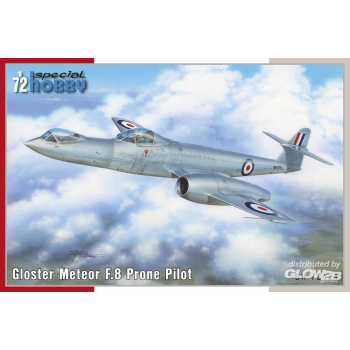 Special Hobby 1:72 : Gloster Meteor F.8 Prone Pilot -100-SH72424
