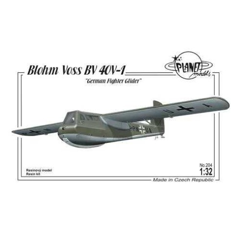 Planet Models 129-PLT204 : Blohm Voss BV 40V-1 German Fighter Glider