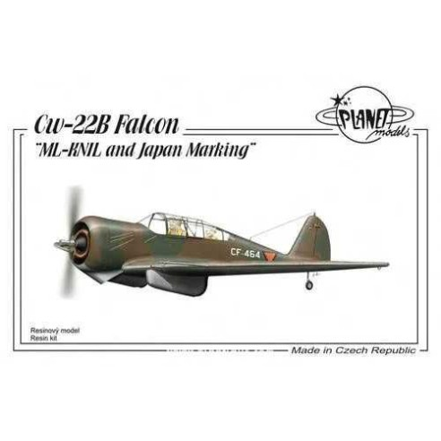 Planet Models 129-PLT185 : Curtiss CW-22B ML-KNIL and Japanese Marking